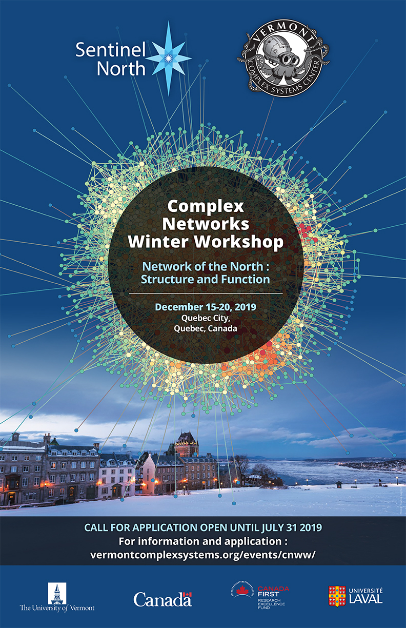 sentinel north complex networks winter workshop 2019
